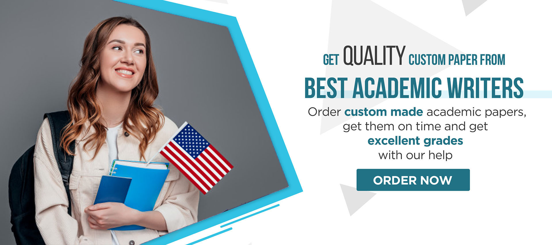 Order custom made academic papers, get them on time and get exellent grades with our help in USA.