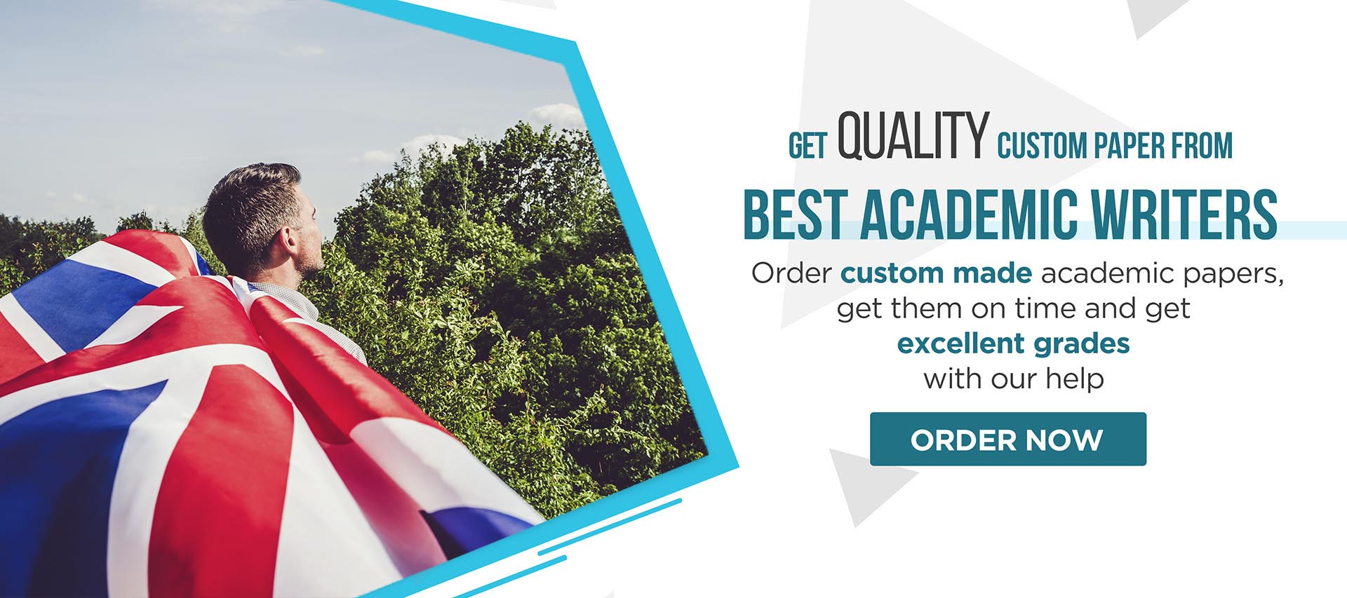 Order custom made academic papers, get them on time and get exellent grades with our help.