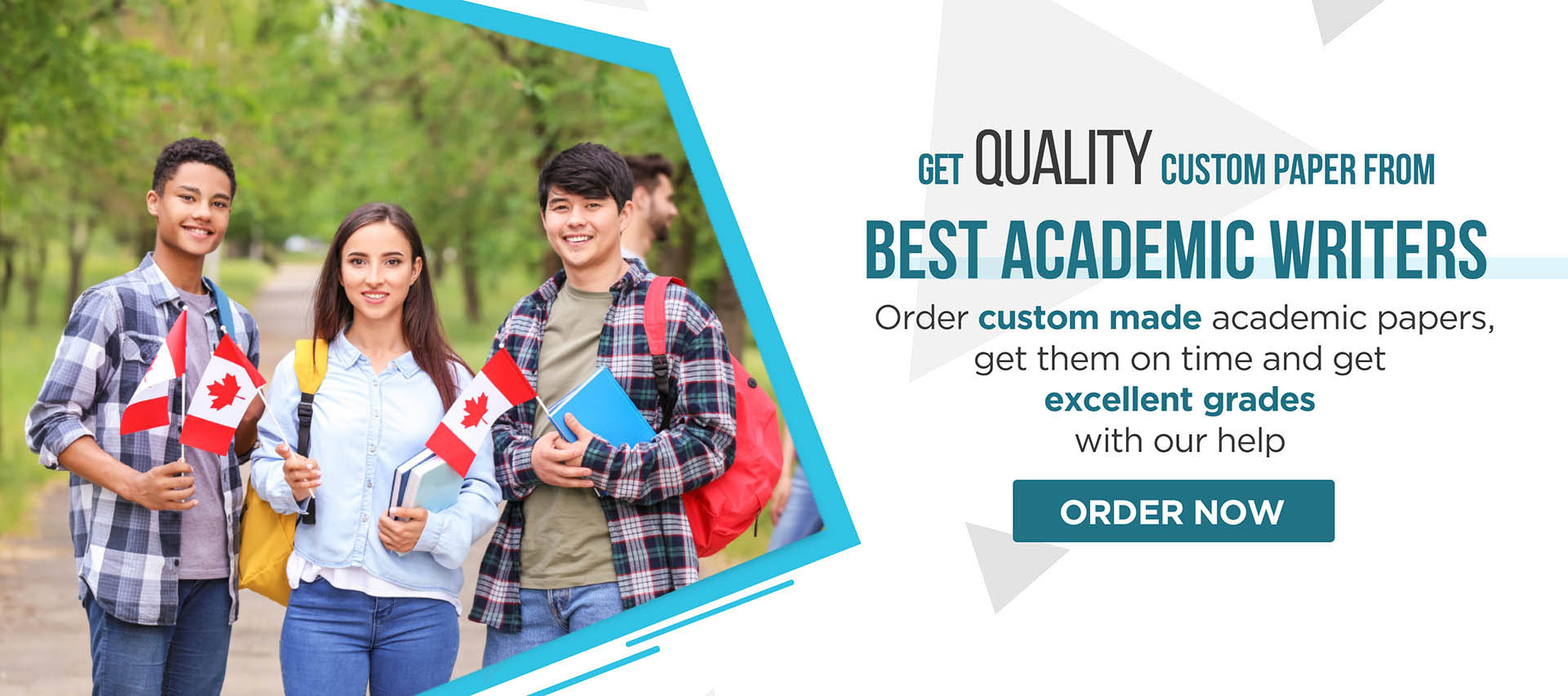 Get quality Custom Paper from Best academic Writers