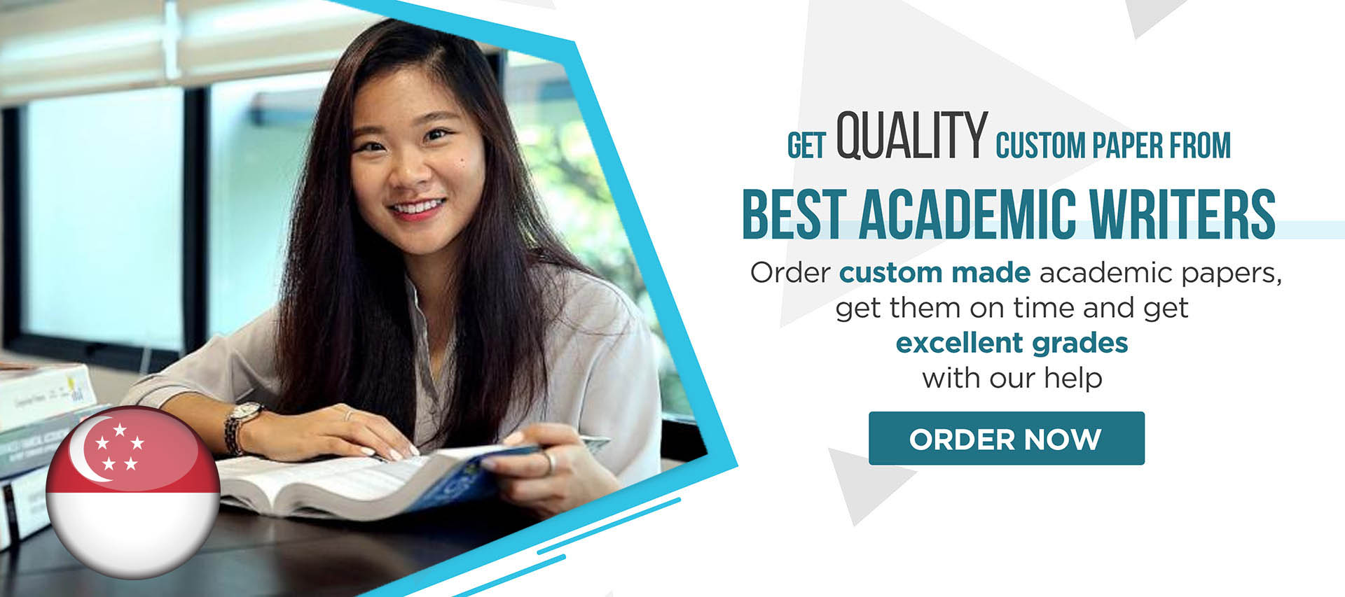 Order custom made academic papers, get them on time and get excellent grades with our help.