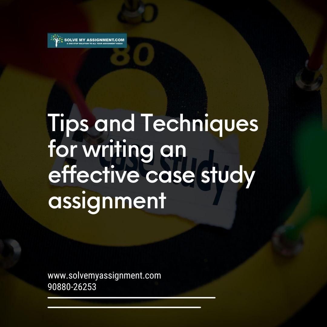 effective case study strategies